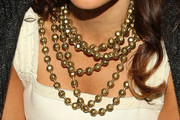 Marisa Tomei Layered Beaded Necklace