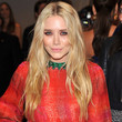 Mary-Kate Olsen Long Straight Cut