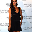 Megan Gale Clothes - Little Black Dress