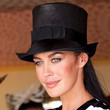 Megan Gale Hats - Top Hat
