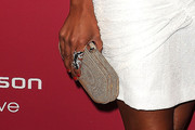 Melanie Brown Suede Clutch