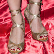 Melora Hardin Strappy Sandals