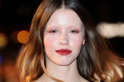 Mia Goth Shoulder Length Hairstyles