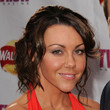 Michelle Heaton Messy Updo