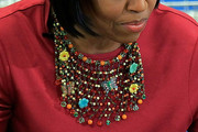 Michelle Obama Beaded Collar Necklace