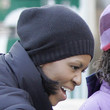 Michelle Obama Knit Beanie