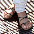Michelle Rodriguez Shoes - Flip Flops
