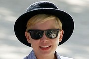 Michelle Williams Bowler Hat
