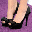Michelle Williams Peep Toe Pumps