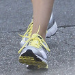 Mila Kunis Running Shoes