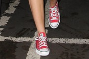 Miley Cyrus Canvas Shoes