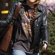 Miley Cyrus Clothes - Motorcycle Jacket