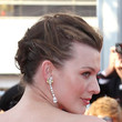 Milla Jovovich Hair - Bobby Pinned updo