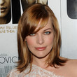 Milla Jovovich Hair - Medium Straight Cut with Bangs