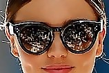 Miranda Kerr Novelty Sunglasses