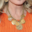 Morgan Fairchild Jewelry - Gold Charm Necklace