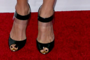 Hilary Swank Peep Toe Pumps
