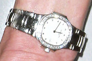 Nancy Shevell Diamond Watch