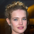 Natalia Vodianova Hair - Bobby Pinned updo