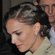 Natalie Portman Hair - Bobby Pinned updo