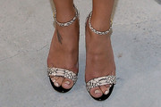 Naya Rivera Evening Sandals