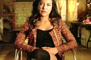 Naya Rivera Zip-up Jacket