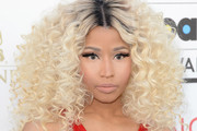 Nicki Minaj Long Curls