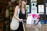 Nicky Hilton Studded Shoulder Bag