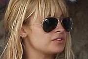 Nicole Richie Aviator Sunglasses