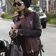 Nicole Richie Leather Jacket