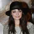 Nicole Richie Hats - Suede Dress Hat