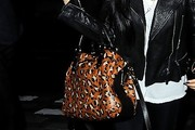 Nicole Scherzinger Printed Shoulder Bag