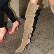 Nicole Trunfio Over the Knee Boots