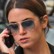 Nikki Reed Sunglasses - Aviator Sunglasses