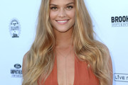 Nina Agdal Long Hairstyles