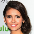 Nina Dobrev Hair - Bobby Pinned updo