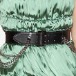 Noomi Rapace Leather Belt
