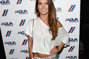Audrina Patridge Off-the-Shoulder Top