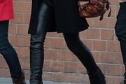 Olivia Wilde Leather Pants
