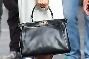 Olivia Wilde Leather Shoulder Bag