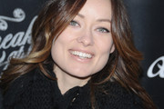 Olivia Wilde Long Wavy Cut