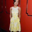 Olivia Wilde Clothes - Print Dress