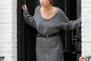 Olivia Wilde Sweater Dress