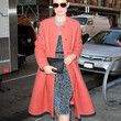 Olivia Wilde Clothes - Wool Coat