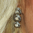 Paris Hilton Jewelry - Dangling Diamond Earrings
