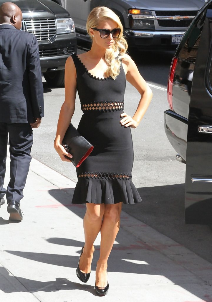Paris Hilton Little Black Dress Paris Hilton Looks