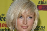 Paris Hilton Short Side Part