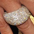 Paula Abdul Gemstone Ring
