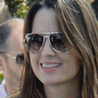 Paula Marshall Aviator Sunglasses