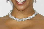 Paula Patton Diamond Choker Necklace